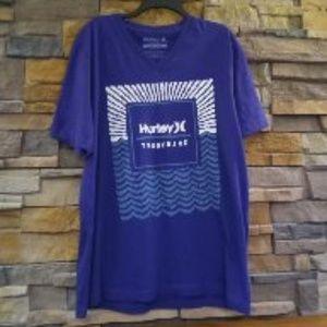 NWT Hurley Trademark Men's T-Shirt Purple XL